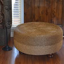 How To Make An Ottoman Out Of A Coffee Table Home Dzine Craft Ideas Make An Ottoman From A Tyre And Rope