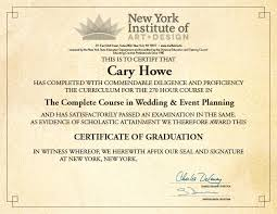 wedding planner certification course event and wedding planning certification special events institute