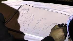 dandi march sketch in one minute youtube