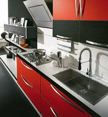 Red And Black Kitchen Ideas How To Use Kitchen Ideas Red And Black Kitchen And Decor