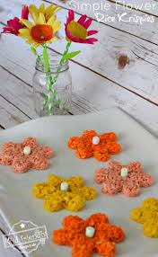 rice krispie treats for thanksgiving simple spring flowers rice krispies treats snack