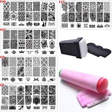 amazon com bluezoo nail stamping manicure image plates