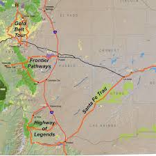 Continental Divide Map Byway Maps Frontier Pathways