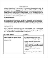 29 statement of work examples u0026 samples