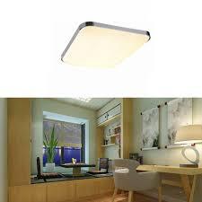 Wohnzimmerlampe Flach Sailun 24w Warmweiß Led Modern Deckenleuchte Deckenlampe Flur