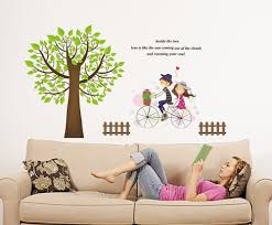 Wall Decals For Living Room 24 Room Mates Wall Decals Com Buy Large Owl Birds Birch Tree
