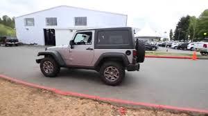 jeep rubicon silver 2 door 2015 jeep wrangler rubicon billet silver fl751140 redmond