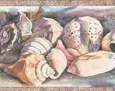 seashell wallpaper border ebay