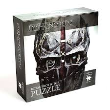 Dishonored Halloween Costume Dishonored 2 Royal Protector 750pc Puzzle Thinkgeek