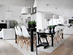 Light Dining Chairs Bright White Dining Table Set Scandinavian Dining Room Tables Room