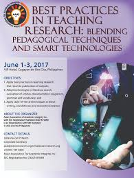 Smart Technologies by Asean Research Organization Best Practices In Teaching Research