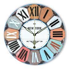 aliexpress com buy roman number large decorative wall clock