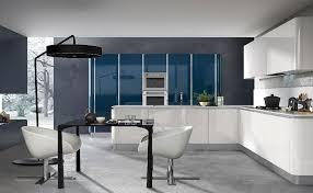 cuisine bleue et blanche la cuisine blanche le des cuisines