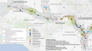 Metrolink Los Angeles Map by Maps And Guides Los Angeles River Revitalization