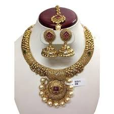 necklace set images images Fancy necklace set artificial designer necklace sets miracle jpg