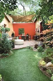 Santa Fe Style Interior Design by Boundary Wall Design Landscape Mediterranean With Santa Fe