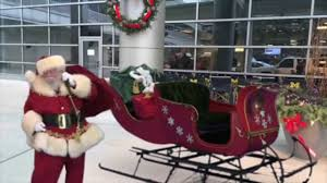 santa u0026 elves caught on video at c s mott children u0027s hospital