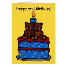 twins 1st birthday greeting cards zazzle com au