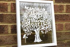 unique wedding gifts unique wedding gifts ideas personalised papercuts