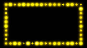 marquee border lights hd background loop