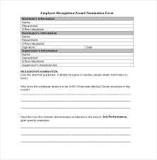 employee recognition form template beautifuel me