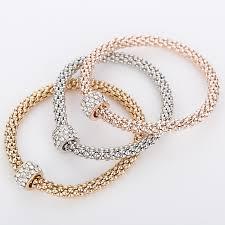 bracelet fine jewelry images 2015 fashion fine jewelry bracelets bangles real 18k gold silver jpg