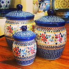 pottery kitchen canister sets 227 best canisters images on kitchen canisters