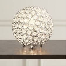 modern u0026 luxury crystal sphere table lamp for living room home