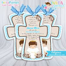 communion invitations for boys baptism centerpieces boy party angel boy center