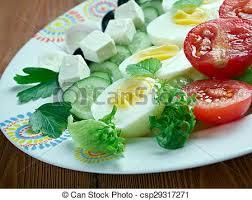 cuisine du soleil salade composee du soleil mediterranean salad picture