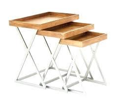 fold away tray table folding tray tables set bar of trays good looking table wood bomer