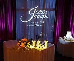 wedding backdrop monogram monogram lighting with free shipping nationwide for weddings and
