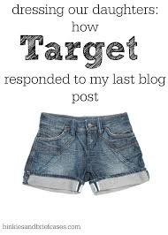dressing our daughters how target responded to my last blog post