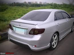 modified toyota modified corolla altis comments pls advice on dashtop etc