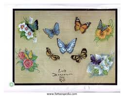 delicate butterfly designs 4