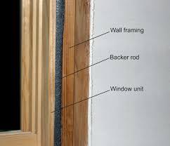 Laminate Flooring Around Door Jambs Air Sealing Window And Door Rough Openings Building America