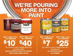 interior paint home depot the home depot save up to 40 on behr and cil paint