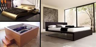 awesome bed frames cool and stylish modern beds