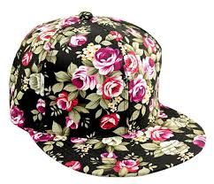floral snapback floral flower snapback adjustable fitted men s women s hip hop cap