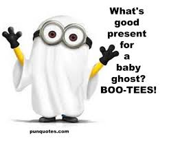 Minion Meme Images - baby ghost halloween minion meme pun quotes