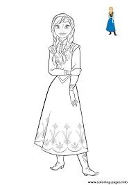 frozen anna coloring book 2018 coloring pages printable