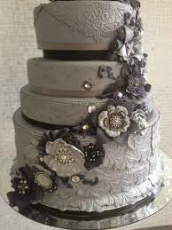 beautiful cake pictures elaborately ornate grey wedding cake
