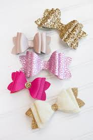 hair bows stacked hair bow tutorial sweet poppy