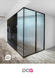 Wall Partition Gf01 Frameless Wall Glass Partition Pca Pap Constructive