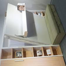 horizontal murphy bed plans diy modern murphy bed inside