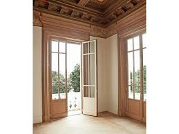 Sliding Wood Patio Doors Three Folding Varnished Wooden Patio Door And Untreated Harwood