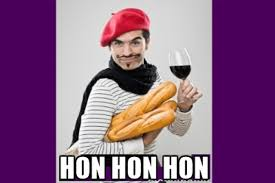 Meme Definition French - why do people think the french say hon hon hon when they laugh