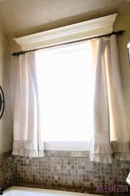 other white bathroom window curtains small bathroom remodel