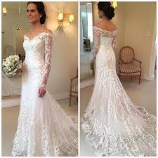 fishtail wedding dress new arrival sleeves lace mermaid wedding dresses 2017