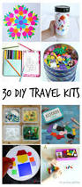 Kids Art And Craft Sets 30 Diy Portable Travel Kits For Entertaining Kids On The Go
